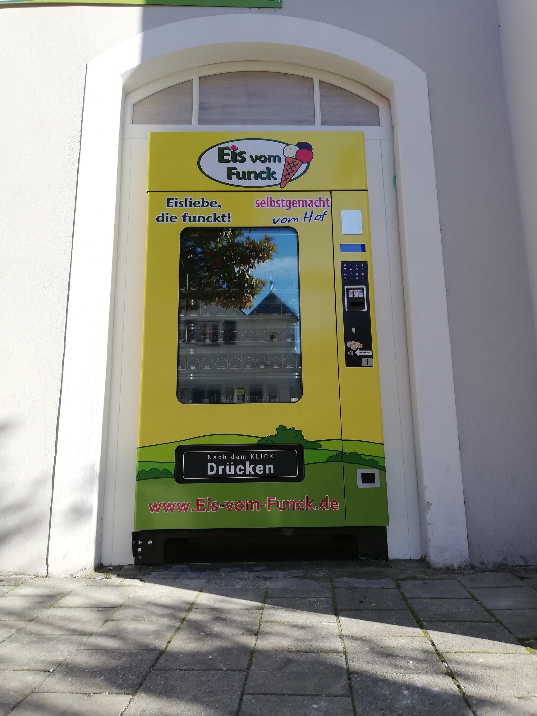 24 h Eisautomat - Harderstraße, Ingolstadt